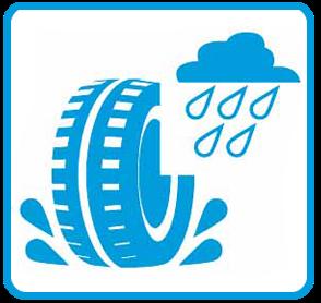 Etichetta UE pneumatici bagnato